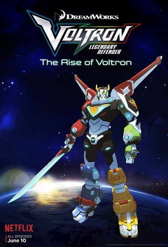 Voltron: legendary defender karatasi la kupamba ukuta probably with anime titled Voltron poster