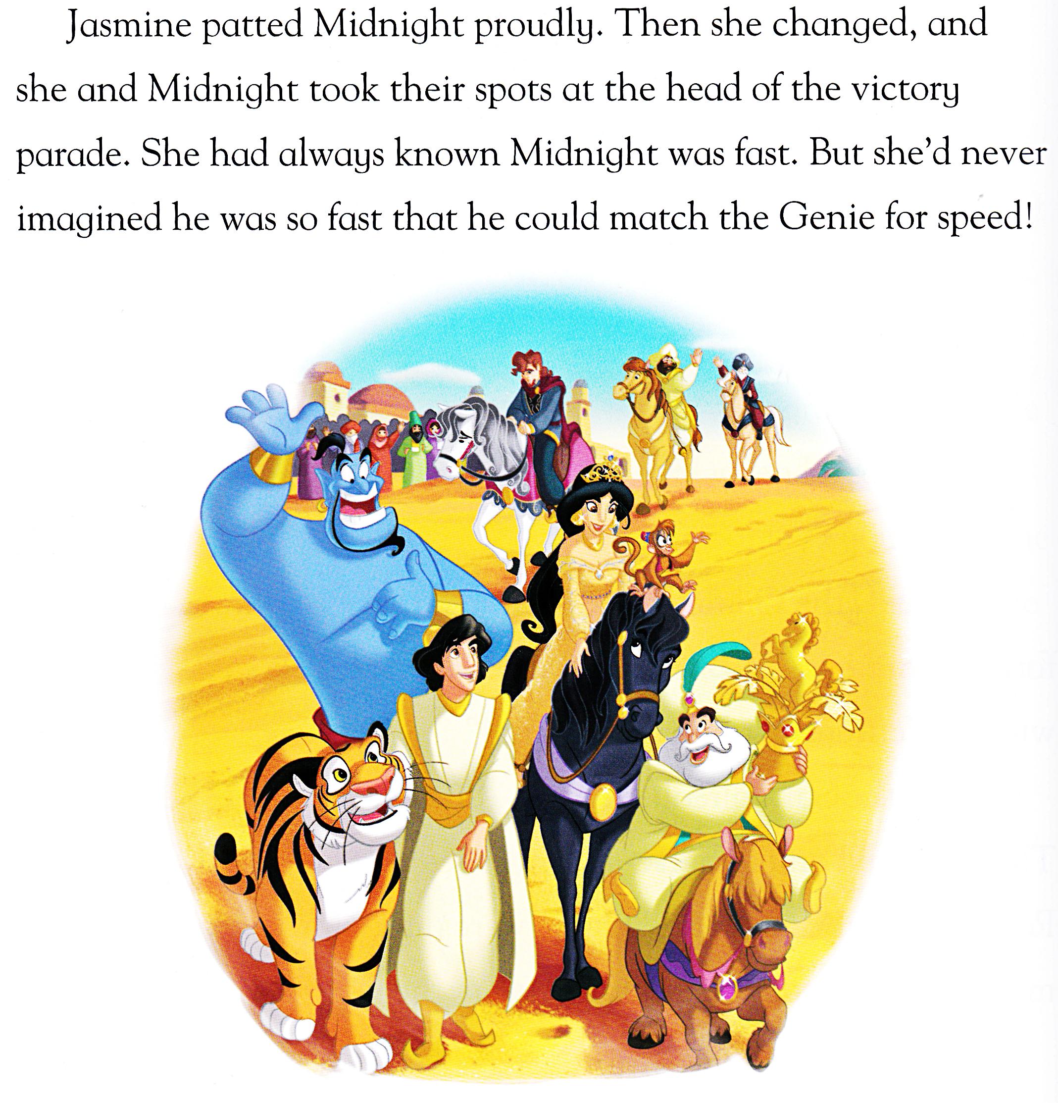 Walt Disney buku - Aladdin: Against All Odds (English Version)