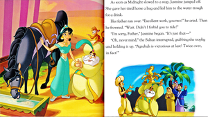 Walt Disney buku - Aladdin: Against All Odds (English Version)