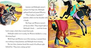 Walt ডিজনি বই - Aladdin: Against All Odds (English Version)