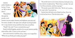 Walt Disney boeken - Aladdin: Runaway Rajah (English Version)