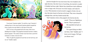 Walt Disney vitabu - Aladdin: The tafuta for the Sultan's Stone (English Version)
