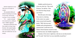 Walt disney buku - Aladdin: The cari for the Sultan's Stone (English Version)