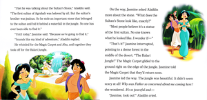 Walt Disney Books - Aladdin: The Search for the Sultan's Stone (English Version)