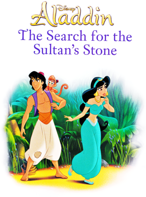 Walt Дисней Книги - Aladdin: The Поиск for the Sultan's Stone (English Version)