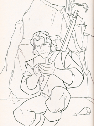 Walt Disney Coloring Pages - Captain John Smith