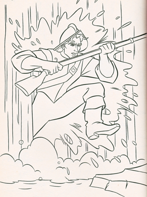 Walt डिज़्नी Coloring Pages - Captain John Smith