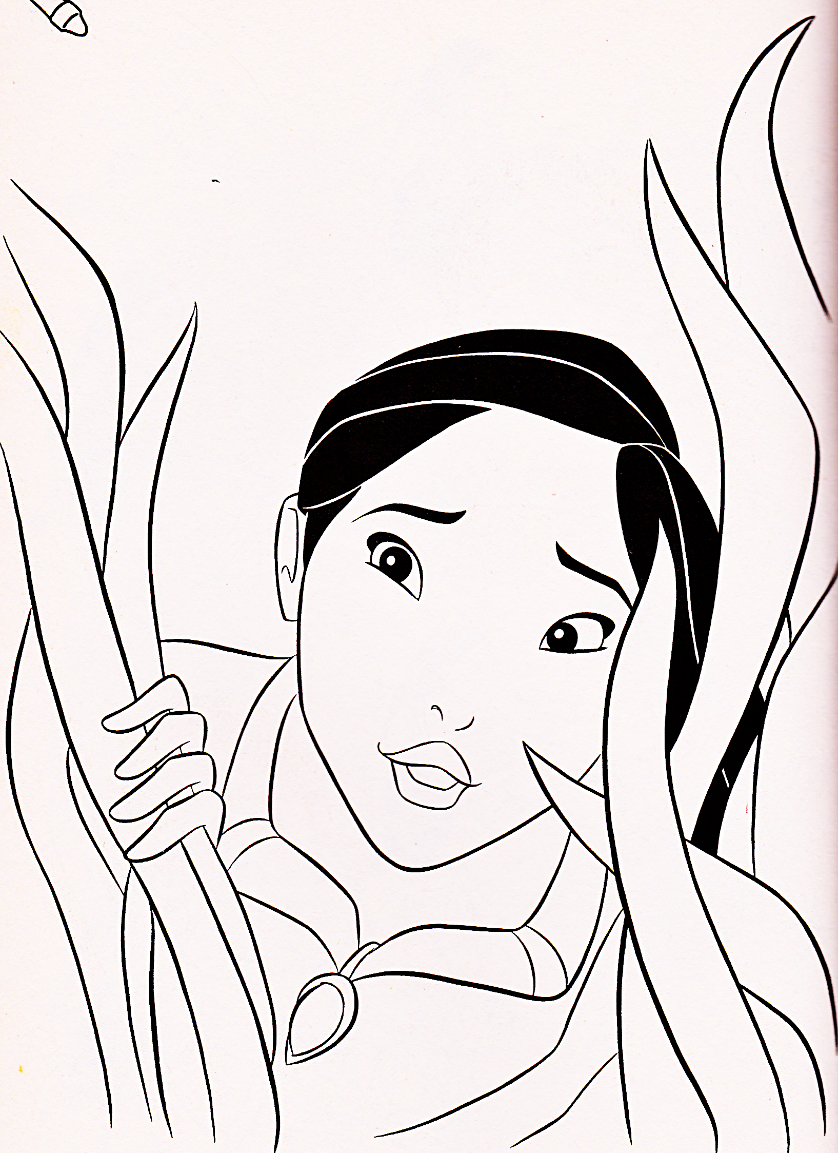 personaggi Disney immagini Walt Disney Coloring Pages - Pocahontas ...