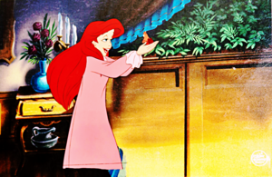Walt Disney Production Cels - Princess Ariel & Sebastian