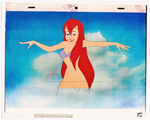 Walt 디즈니 Production Cels - Princess Ariel