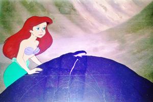 Walt disney Production Cels - Princess Ariel