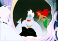 Walt Disney Production Cels - Ursula & Princess Ariel - walt-disney-characters photo
