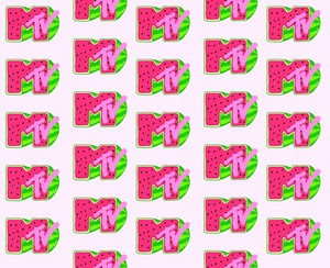 Watermelon Mtv Logo wallpaper