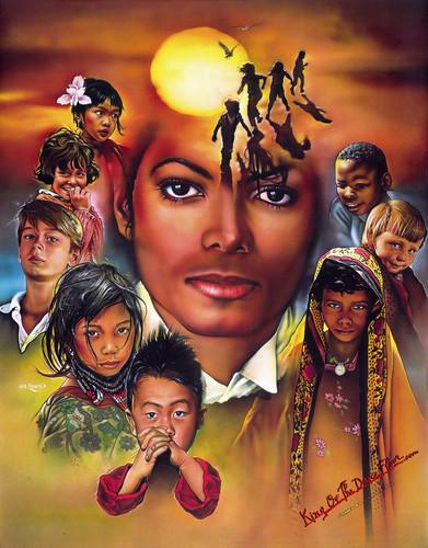 Michael Jackson karatasi la kupamba ukuta entitled We Are The World Michael Jackson HQ