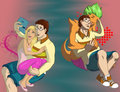 What is the difference? - total-drama-island fan art