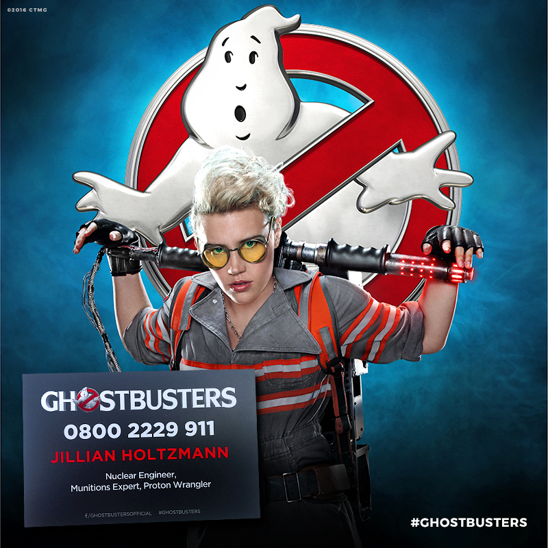 Who 你 gonna call? Jillian Holtzmann!