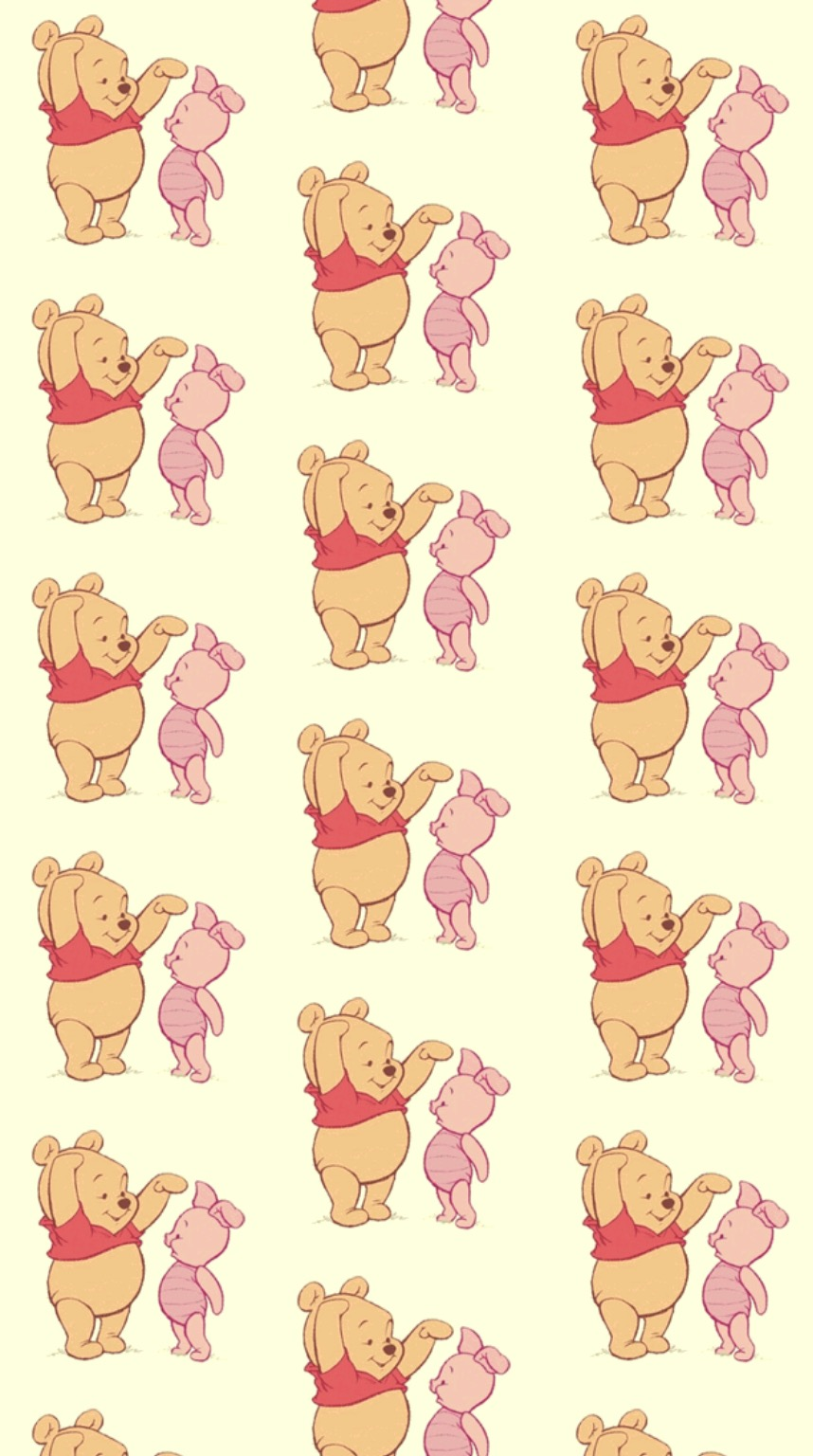 Winnie The Pooh Patternsbackgroundswallpaper Wallpaper