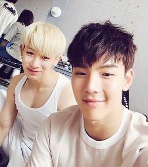 Wonho and Shownu