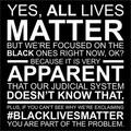 Yes, All Lives Matter. But... - debate photo