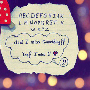 alphabet missing love quotes sad Favim.com 5931171