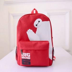 big hero 6 baymax oxford schoolbag backpack