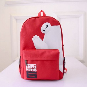 big hero 6 baymax oxford schoolbag backpack