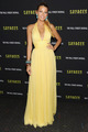 blake lively yellow halter plunging bridesmaid prom dress new york premiere - blake-lively photo