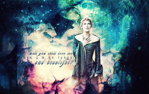 game of thrones wallpaper titled Cersei Lannister