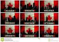 collage famous canadian cities winnipeg halifax calgary edmonton quebec montreal ottawa toronto vanc