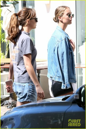 dakota johnson goes casual for lunch with fifty shades gang 01