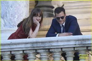 dakota johnson jamie dornan take fifty shades to paris 21
