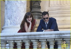 dakota johnson jamie dornan take fifty shades to paris 23