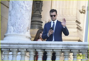 dakota johnson jamie dornan take fifty shades to paris 35