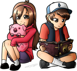 dipper and mabel kwa tvzrandomness d8edmvj