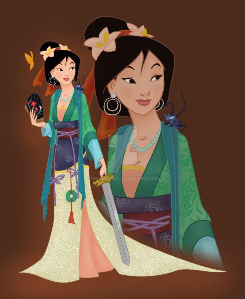 disney princess mulan by ohanamaila d94eqty
