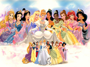 Walt Disney پیپر وال - Disney Princess