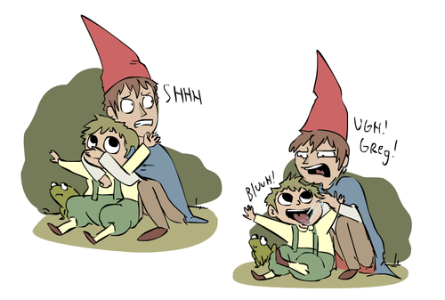 Over The Garden Wand Hintergrund containing Anime called garden Wand brothers Von sky665 d84v4xe