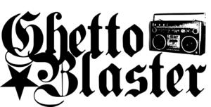 ghetto blaster boombox logo