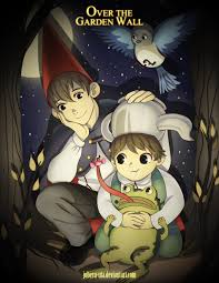 Over The Garden uithangbord achtergrond possibly with anime titled index