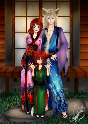 kamisama hajimemashita  tomoe and nanami    by alexandraavetta d8b6kcc