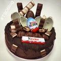 kinder cake - chocolate photo