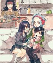 levi and gajeel family