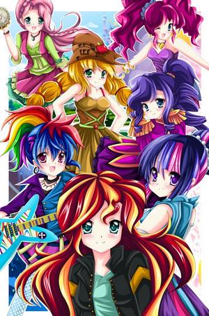 mlp  equestria girls  friendship through the ages by kiriche d8s04ij