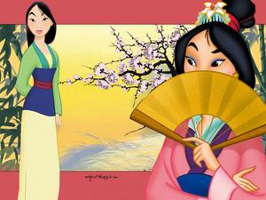 mulan characters wallpaper 4