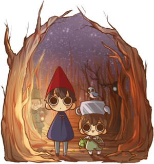 over the garden Стена by blobical d86nhbh