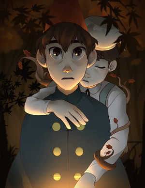 over the garden mural por lemonokashi d85wlui