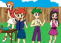 phineas and ferb fan art 1 by magicwaterz16 d4gmo7x - phineas-and-ferb photo