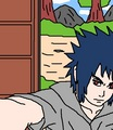 sasuke selfie