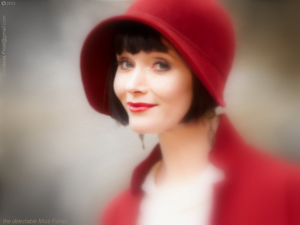 the delectable Miss Fisher