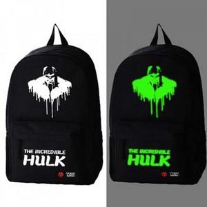 the incredible hulk schoolbag backpack